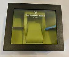 Box Green Interior TechnoMarine Empty Presentation Watch