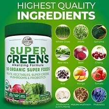 Country Farms Super Greens Drink 50 Organic Super Foods Natural Flavor 10.6oz