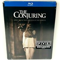 The Conjuring FYE Exclusive Steel Book DVD New Factory Sealed - No Box Damage