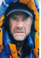RANULPH FIENNES HAND SIGNED autograph 12 X 8 INCH photo Mount Everest Explorer