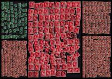 Gb Uk 1936 Used Keviii Large Collection 1/2d 1d 1.5d Sg#457/459 405+Stamps#Cb815
