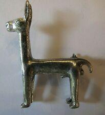 Vintage Brooch Pin Llama Alva Studio Museum Relic Replica