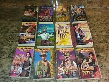 Lot of 12 historical romance books~Leigh Greenwood Cowboy Series Plus