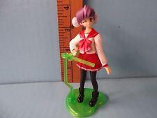 "To Heart 2 Himeyuri Sango 4""in PVC Figure Cute Schoolgirl is  Winking At you!!"