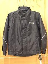 Sledmate Boys Snow Mobile Jacket Coat Black Size 10 NWT