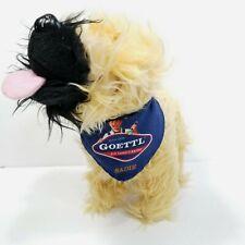 "Goettl Air Conditioning Stuffed Dog Mascot Sadie Advertising Plush Yellow 9"""
