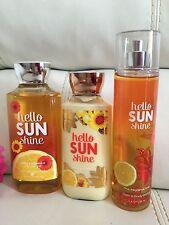 Total 3 Hello Sunshine Shower Gel +Body Mist & Body Body Lotion