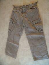 Mossimo Supply 100% khaki cotton Vintage cargo pants size 36 x 30