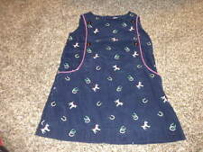 LILLY PULITZER 4 NAVY BLUE CORD HORSE DRESS