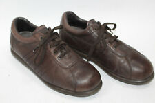 CAMPER men shoes sz 8 Europe 41 brown leather S7816