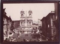 Roma Roma Foto Italia amatore Viaggio in Italia 1898 Vintage citrato