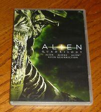 Alien Quadrilogy Dvd set, used, Sigourney Weaver, Ridley Scott, James Cameron
