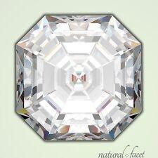 1.17 Carat H/VS1/Ideal Cut Asscher AGI Certified Diamond 6.16x5.78x3.69mm