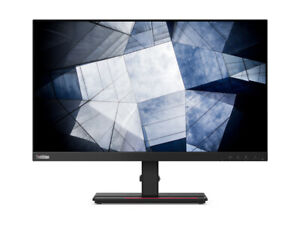 "Lenovo ThinkVision P24h-20 23.8"" IPS LED Monitor - Raven Black"