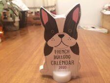 Boston Terrier/French Bulldog 2020 Desktop Calendar - New