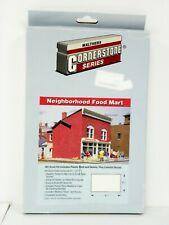 "Walthers/Cornerstone Ho U/A ""Neighbor Food Mart"" Plastic Model Kit #933-3033"