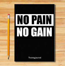 GYM DIARY/WEIGHT TRAINING LOG BOOK/TRAINING JOURNAL/ EXERCISE & WORKOUT LOG