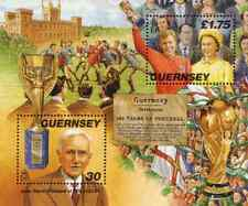 Timbres Sports Football Guernesey BF39 ** année 1998 lot 9302