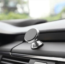 New Mount Bracket Car Portable 360 Degree Magnetic Cell Phone Holder | Silver