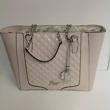 GUESS NEW AUTHENTIC POWDER TOTE LOGO  HANDBAG