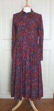 Vintage Cotton Laura Ashley Dress Floral Print - Never Worn - Sz UK 12/14