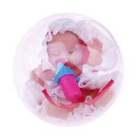 Lifelike Vinyl Reborn Girl Doll Soft Newborn Sleeping Baby Doll Xmas Gift