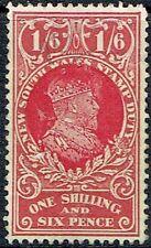 Australia 1908 Kevii N.S.W. Stamp Duty 1/6 Used As Is See Scan.