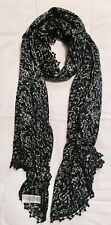 French Connection Edition Blue & White Floral Scarf / New