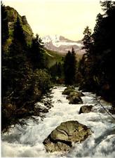 P.Z. Suisse, Kander & Dolden Horner Vintage Print, Switzerland photochromie, v