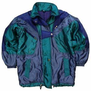 Vintage Ski Jacket Women's Part Ski Suit 80'S 90'S 44 XXL