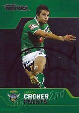 ✺Signed✺ 2013 CANBERRA RAIDERS NRL Card JARROD CROKER Chart Toppers
