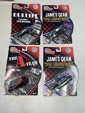 Lot Of 4 Racing champions Tv/Movie 1/64 A-Team Van Bullitt Ford James Dean Nip