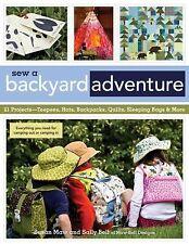 SEW A BACKYARD ADVENTURE - SALLY BELL SUSAN MAW (PAPERBACK) NEW