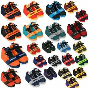 Officially Licensed NFL Puffy High-Top Sneaker Slippers 492218-J