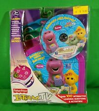 Fisher-Price InteracTV DVD Learning System Barney Game New In Package
