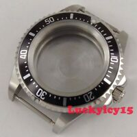 PARNIS SEA 42mm Stainless steel watch case fit ETA 2836 Miyota 8215 movement 134