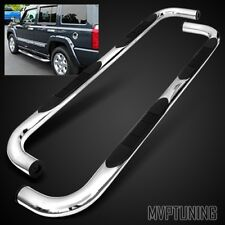 """For 2006-2012 Jeep Commander XK 3"""" Stainless Steel Chrome Side Step Nerf Bar"""