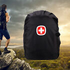 Waterproof Dust Rain Backpack Cover Travel Camping Hiking Outdoor Rucksack Bag S