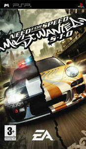 Need For Speed Most Wanted 5-1-0  PSP Game
