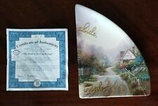 Thomas Kinkade Bradford Blessings of Home Road to Teacup Cottage Plate # 3