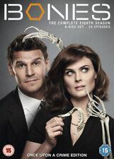 Bones Complete 8th Season Dvd Emily Deschanel Brand New & Factory Sealed