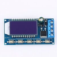 High Power 8A PWM Pulse Frequency Duty Cycle Adjustable Signal Generator Driver