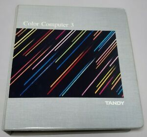 Tandy Color Computer 3 Operating System Manual Binder OS-9 Level Two
