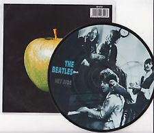 Beatles, Hey Jude, NEW/MINT Ltd edition PICTURE DISC 12 inch vinyl single
