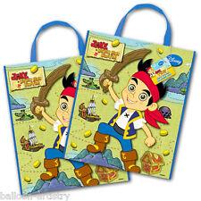 2 Jake e mai pirati terrestri Regalo Festa trattare PLASTICA BORSE con manici