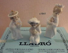 Lladro Nativity Ornament Set of 3 Kings - New Box Never Used