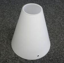 Lampenschirm Glasschirm Lampenglas Ersatzglas Weiß Leuchtenglas Tischlampe T3