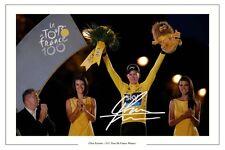 Chris FROOME 2013 tour de France signé autographe photo print