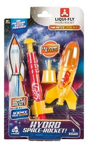 Liqui-Fly Water Rocket by Lanard NO BATTERIES REQUIRED!!!  AFTB15