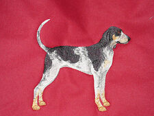 Embroidered Ladies Short-Sleeved T-Shirt - Bluetick Coonhound C9622